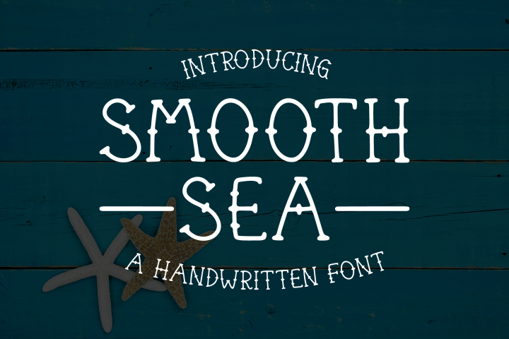 Smooth Sea Font