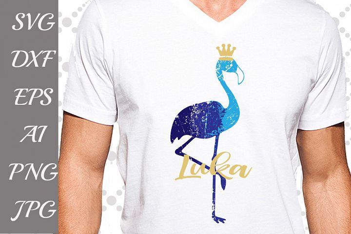 Flamingo Svg,FLAMINGO DISTRESSED, Ombre Flamingo,Crown Svg