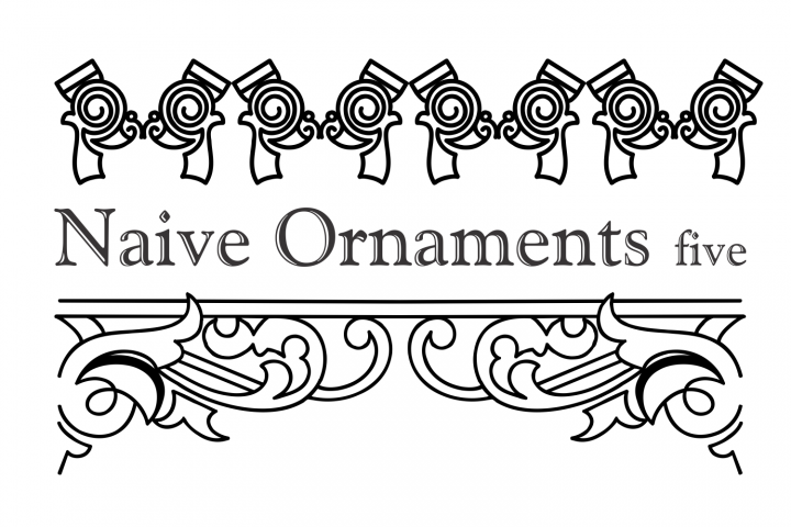 Naive Ornaments Five