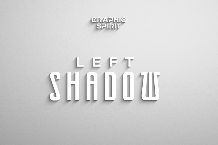 Laconic Long Shadow for Photoshop example 3