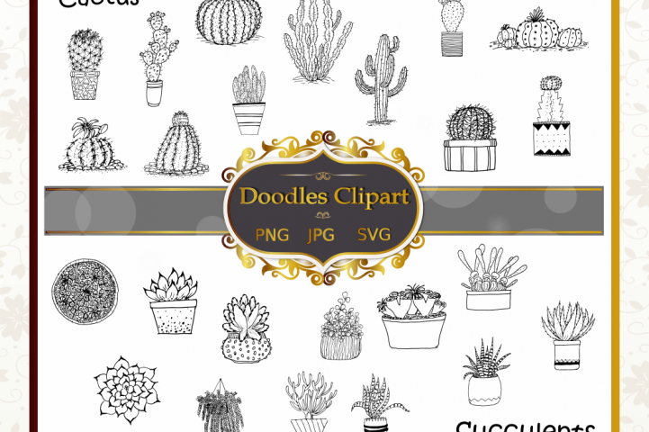 Cactus Clipart Collection
