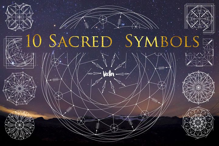10 Sacred symbols