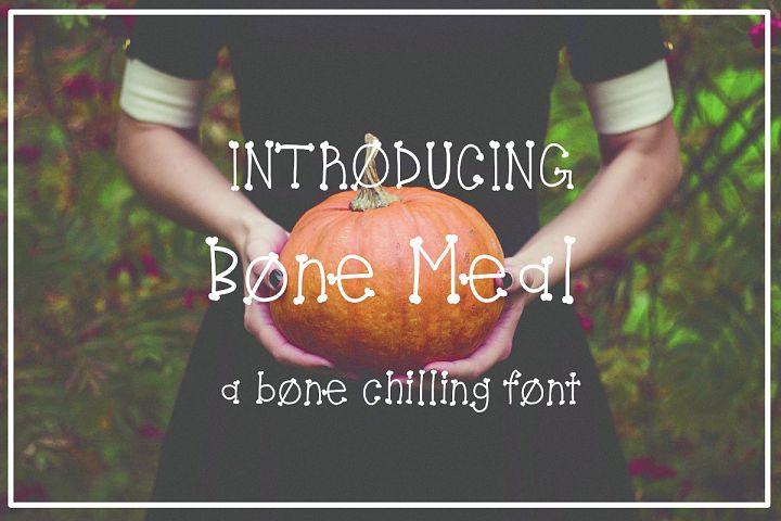 Bone Meal Font