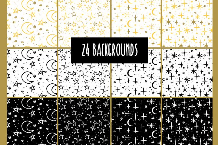24 star backgrounds