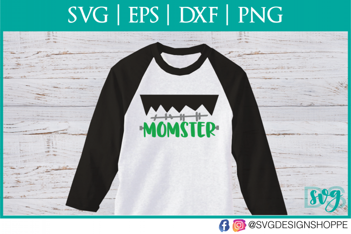 Momster, Monster, SVG, Halloween SVG, PNG