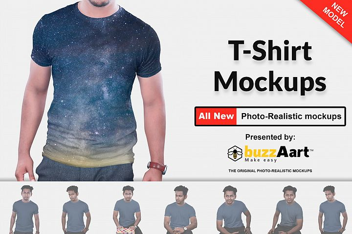 Tshirt Mockups Man Version