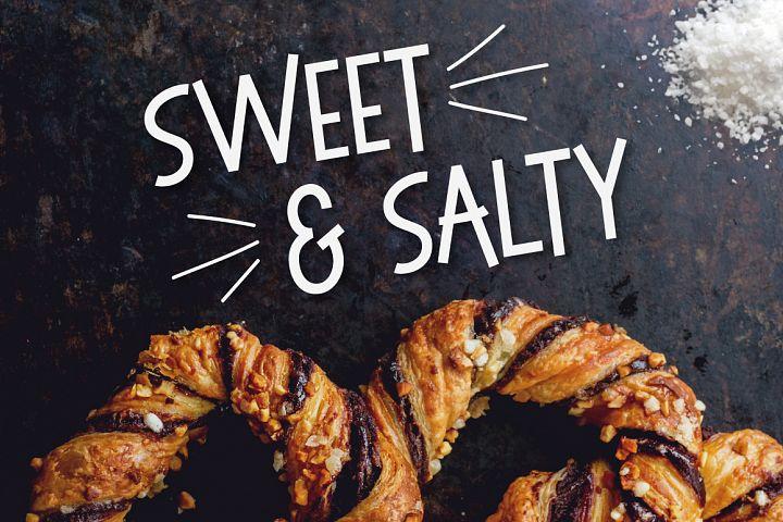 Sweet & Salty   A Bouncy Sans Serif