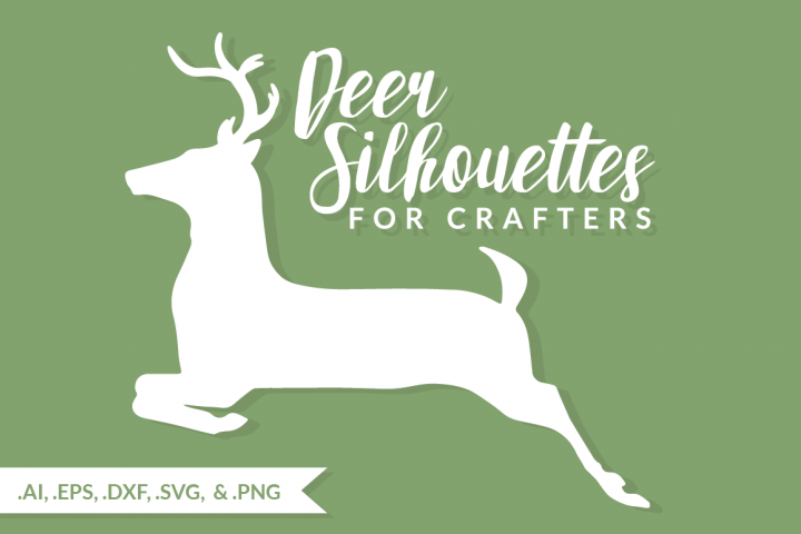Deer Silhouettes for Crafters