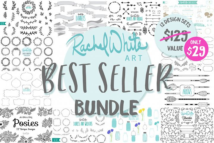 Best Seller Bundle, 12 Design Sets
