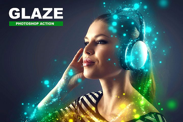 Glaze Photoshop Action