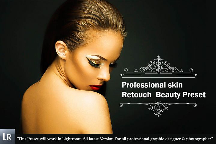 Professional skin Retouch Beauty Preset