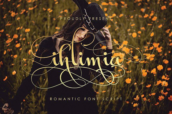 Ihlimia Romantic Script