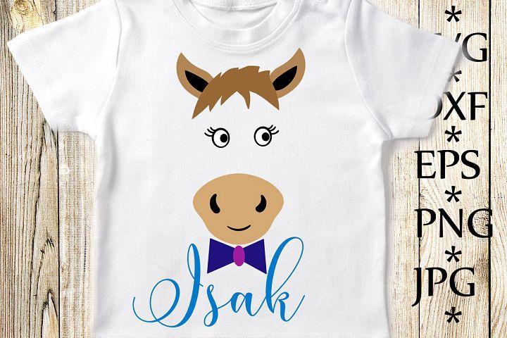Horse Face Svg,Cute Horse Svg,Horse cut files,Kids Svg