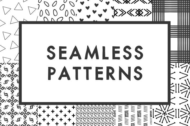 Seamless Patterns - Glyph Set 1