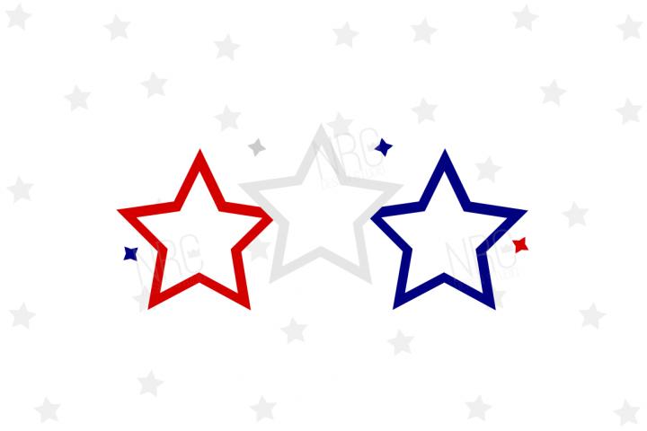 Patriotic Stars SVG File