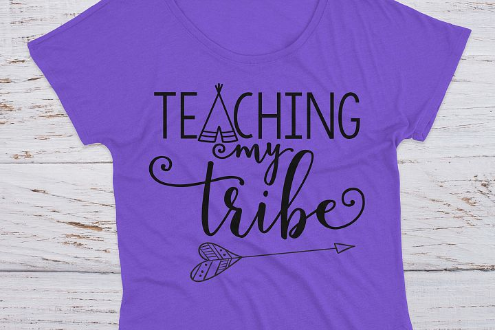 Teaching My Tribe School SVG example 5