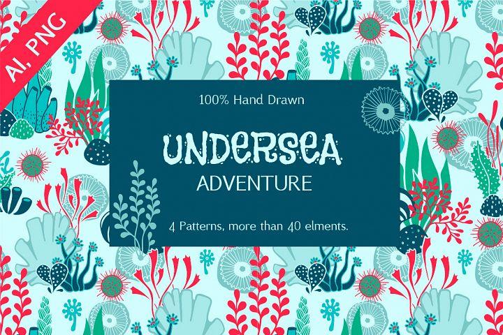 Undersea Design Elements Bundle