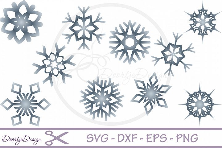 Snowflake SVG, Christmas SVG, Snow Cutting File