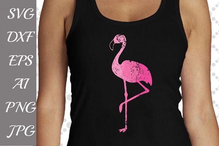 Flamingo Svg,FLAMINGO DISTRESSED, Ombre Flamingo,Grunge Flamingo