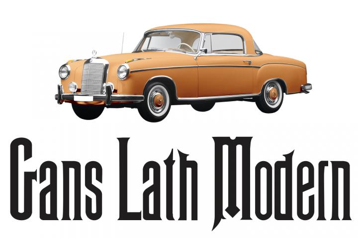 Gans Lath Modern (pack)