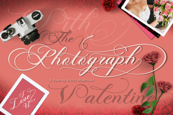 Photograph - Script Wedding Font - Free Font of The Week