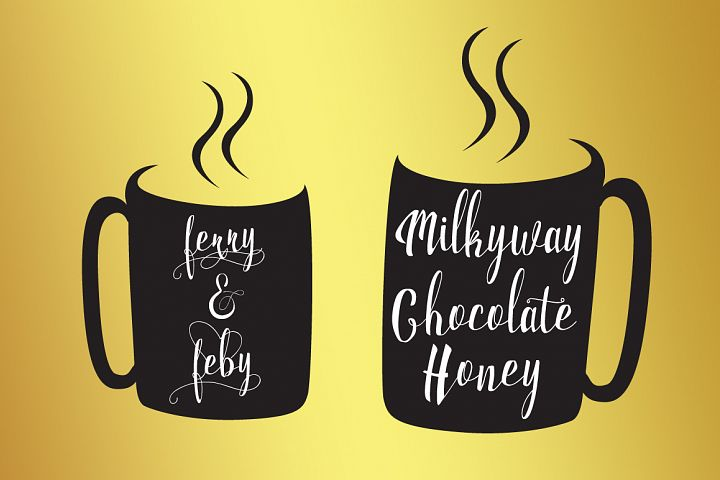 Milkytwins Modern Wave Calligraphy - Free Font of The Week Design 3