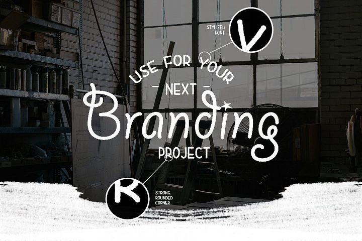 Rainday Typeface Font - Free Font of The Week Design 2
