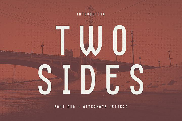 Two Sides - Font Duo