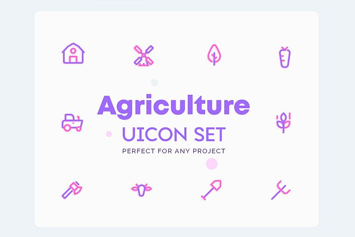 UICON - Agriculture, Farming Icons