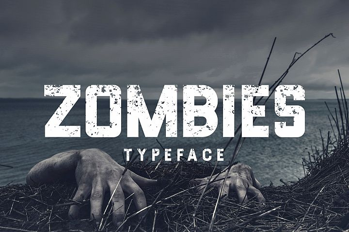 Zombies Typeface