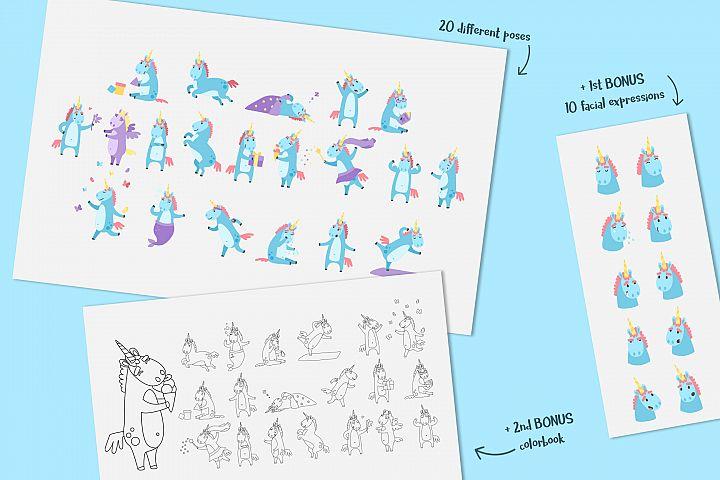 Emotional Unicorn Set example 2