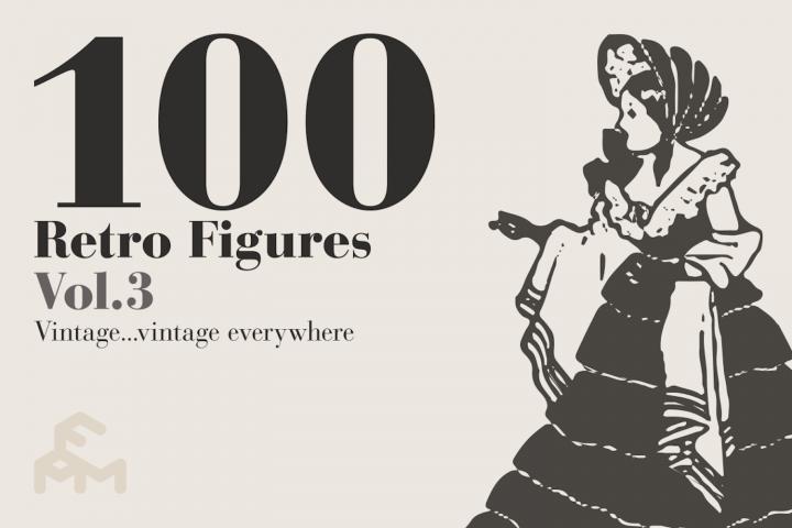 100 Retro Figures - Vol.3
