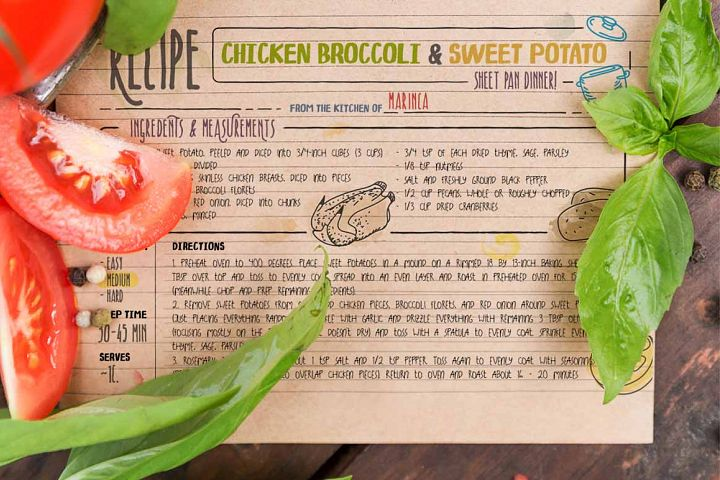 Recipe Daily - Free Font of The Week Design 4