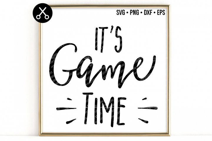 ITS GAME TIME SVG