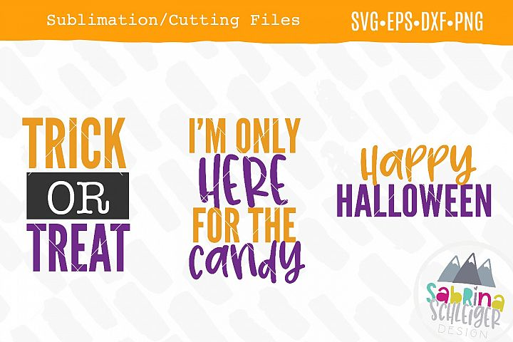 Halloween Mini Bundle- SVG/Sublimation Designs