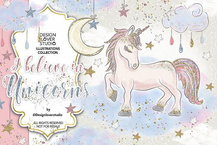 I believe in Unicorns design