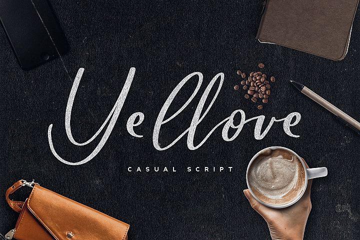 Yellove Duo - Fun Casual Handwriting