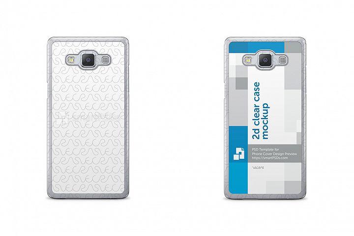 Samsung Galaxy A5 2015 Phone Cover Design Template