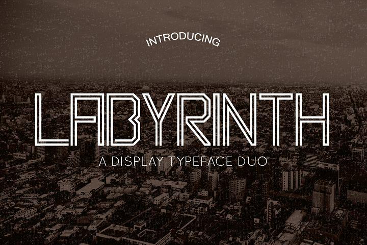 Labyrinth Typeface