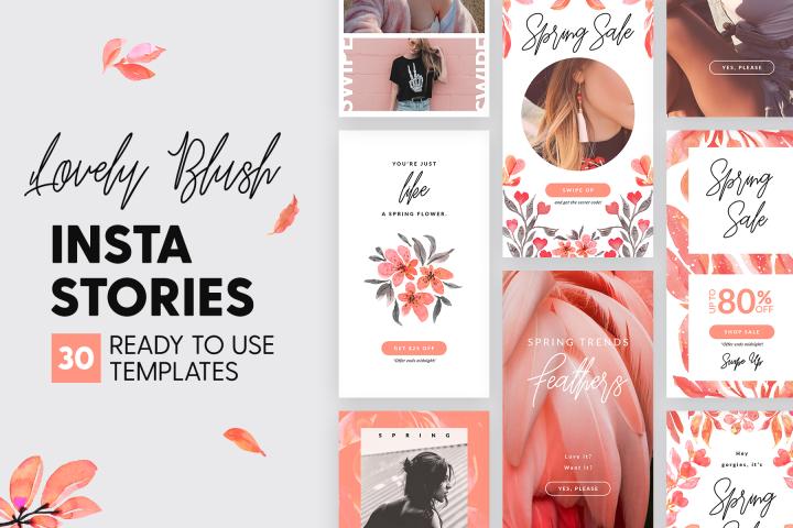 Instagram Stories - Lovely Blush Ed.