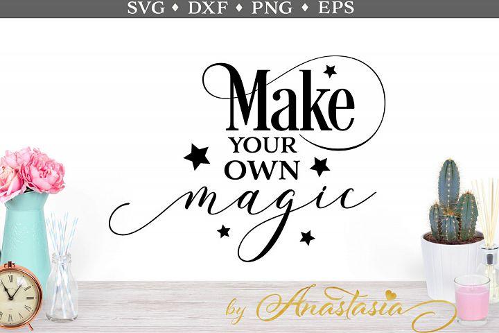 Make your own magic SVG cut file