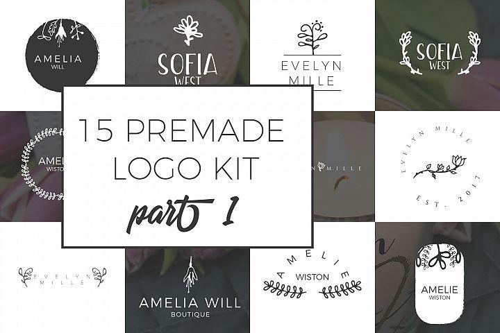 Feminine Premade Logo Kit part 1