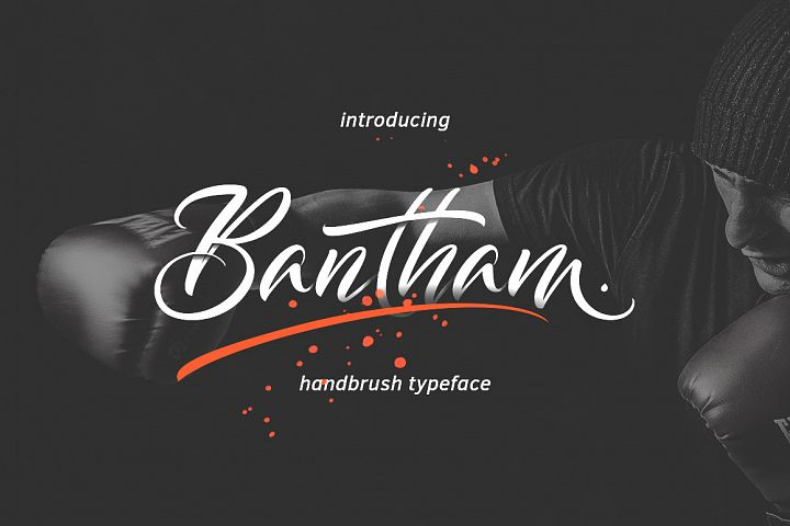 Bantham Typeface