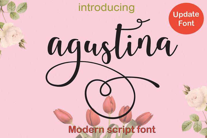 agustina (UPDATE)