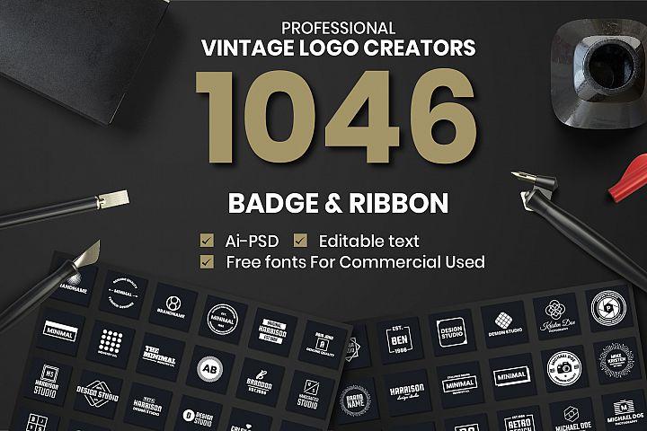 1046 Vintage Logo Creators