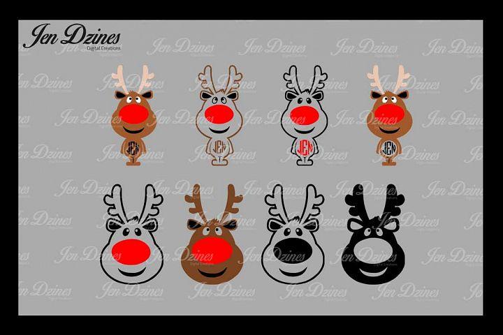 Reindeer SVG DXF EPS PNG
