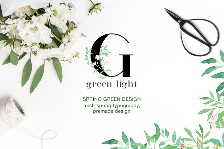Green Light -  Fresh Spring Art