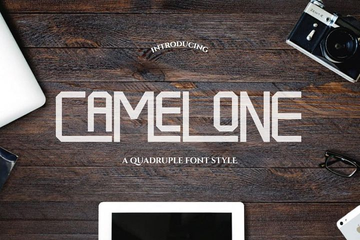 Camelone - Free Font of The Week