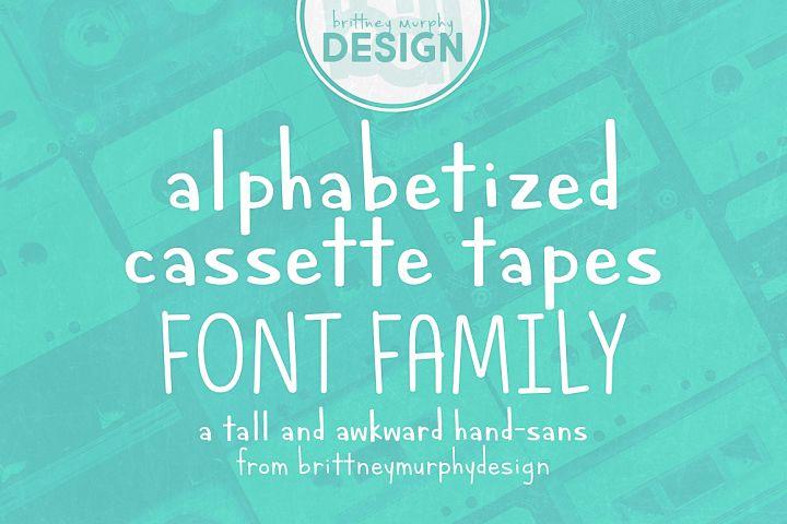 Alphabetized Cassette Tapes