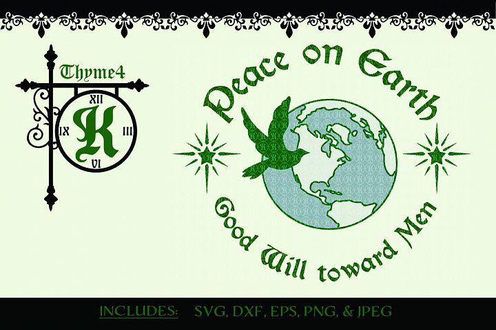 Peace on Earth Digital Design